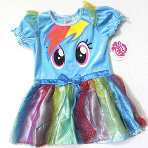 Hasbro My Little Pony Rainbow Dash Sparkle Tutu 3T